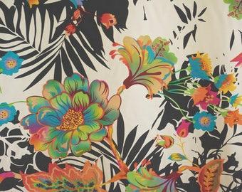 Bold Flower Polyester Print