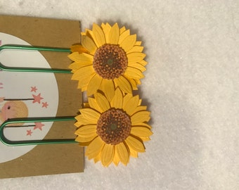 Sunflower set planner clips