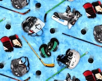 Hockey Sticks & Helmets