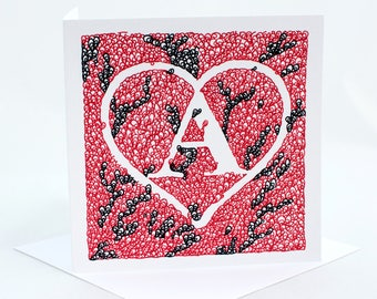 Loveheart, Letter, Greeting Card