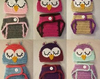 Newborn Owl Photo Prop