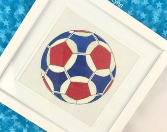 Soccer Ball, Children room art, Nursery decor