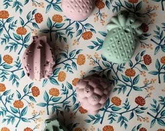 Concrete | fruit shape magnets