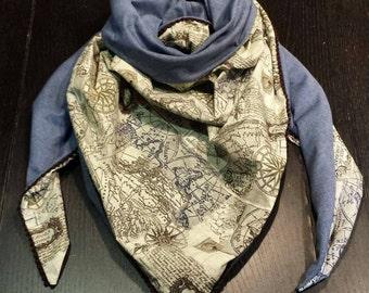Chèche foulard étole scarf mixte