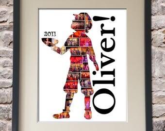 Oliver Digital Collage