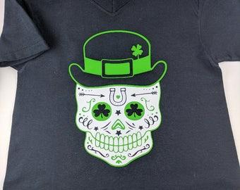 Sugar Skull St. Patrick's Day Shirt
