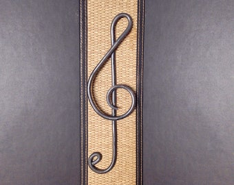 Hand Forged Treble Clef - Music Wall Decor