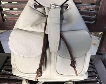 Mistli Leather Backpack