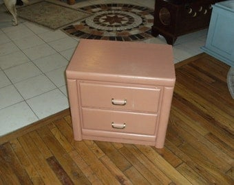 A Kitty Litter Box converted from a nightstand.