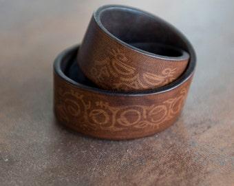 Leather Bracelet, Women's Leather Bracelet, Leather Cuff