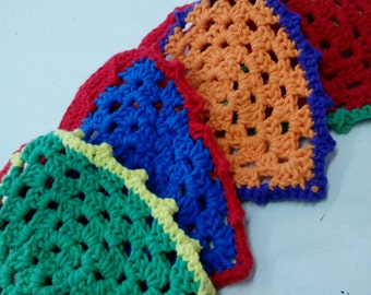 Crochet Garland garish, 100 cm