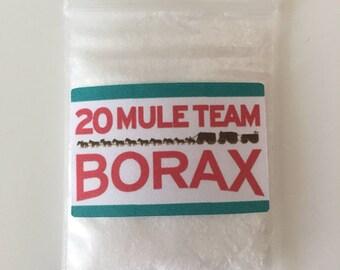 Bag of borax!