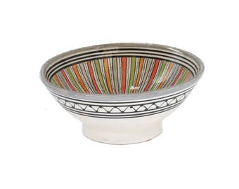 Sahara Serving Bowl, Grey Small