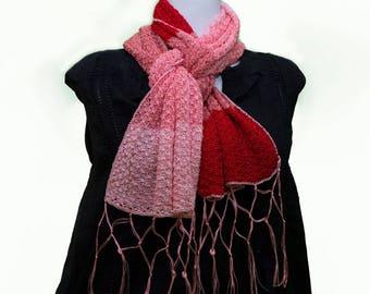 Crochet Scarves & Stoles in silk thread