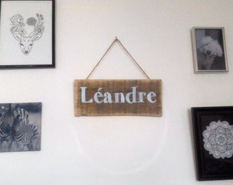 First name/Word wall hook