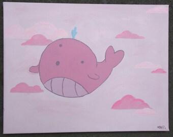 Steven Universe Whale Painting