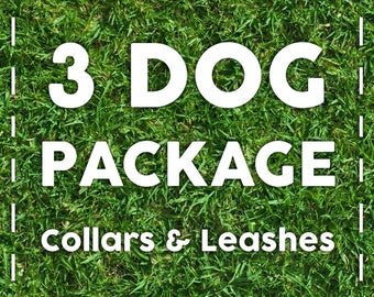 3 Dog Package - For the multi-dog family