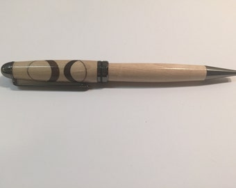 Maple and Walnut wooden pen