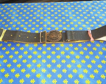 Vintage Scouts Canada Belts from the 1950's