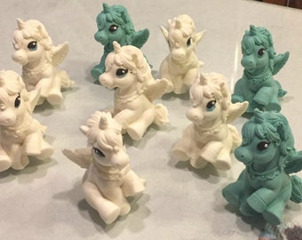 Chocolate Unicorn(12), Cupcake toppers, Cake Decorations, Party Favors, LulaRoe Unicorn inspired (12)