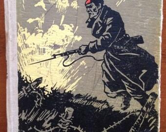 Vintage russian book Russian literature Soviet literature Hardcover Russia's Revolution Mikhail Tardov Front Russian language