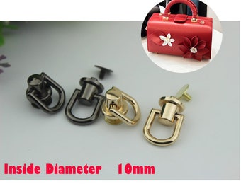6 set bag Handbag purse Connector for chain Chain Connector Screw Connector  gold black gunmetal