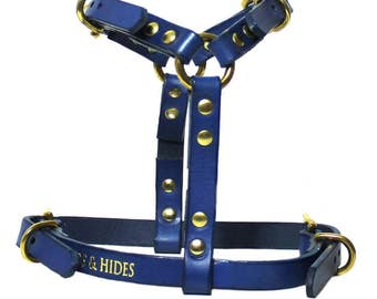 COMO HARNESS, Dog Harness, Luxury Dog Harness, Leather Dog Harness