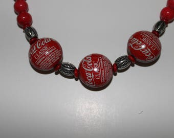 Coke Cola Necklace