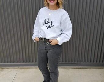 Old Soul Crewneck Sweater