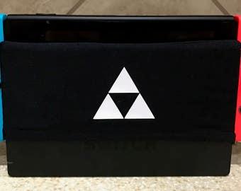 The Original Microfiber Nintendo Switch Dock Sock - Switch Dock Cover, Nintendo Case,  - Triangles