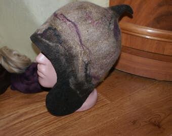 Felted hat / Валяная шапка