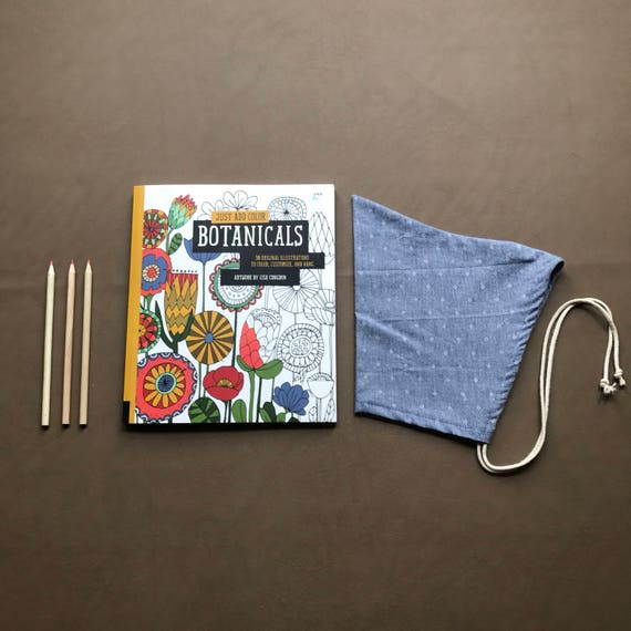 Pixie Bonnet // Chambray // Pull String