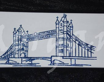 Canvas 'London bridge'