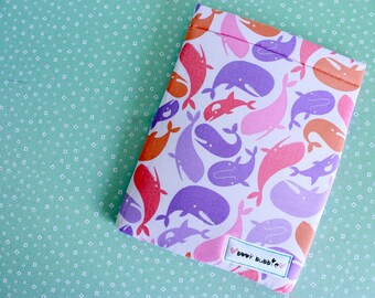 Whales Book Sleeve