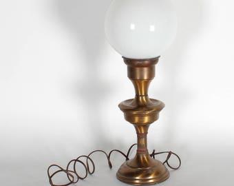 Antique Brass Mini Lamp Post