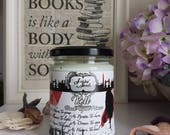 KELL - Inspired by A Darker Shade Of Magic - 12oz Hand Poured Bookish Soy Candle