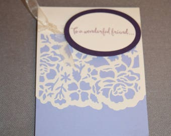 Handmade Stampin' Up! (SU) Botanical Card – Any Occation