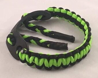 "Bow Wrist Sling ""Neon Green/Black"""