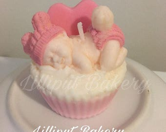 Its a girl its a boy Candle - Sleeping baby scented with baby powder