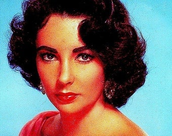 Elizabeth Taylor / fabric panel / cushion /cushions / upholstery / sewing / sewing supplies