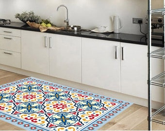 Pvc rug - kitchen rug - Floor mat - Flooring - Vinyl Floor - Kitchen Flooring –  626