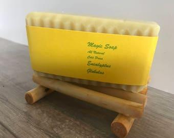 Eucalyptus Bar Helps Eliminate Eczema Bumbs, Rash, Itch, Makes Skin Soft and Glow