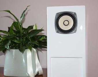 Floor Speakers - floorstanding speaker-Tower Speakers - speakers - fostex fe103en - white speakers - Loudspeakers