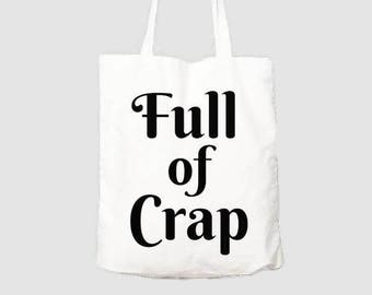 Tote Bag - Canvas Tote Bag - Canvas Cotton Bag - Funny Gift - Project Bag - Knitting - Shopping  Bag 350gsm Glossy