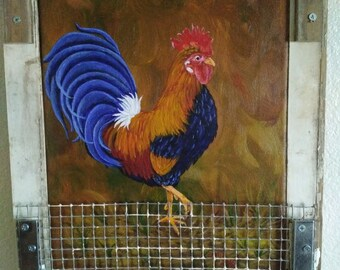 Rooster in The Coop
