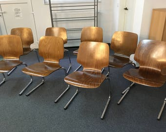 Chairs chair retro Flötotto design industry desk Pagholz Germany Pagwood loft Studio conference table