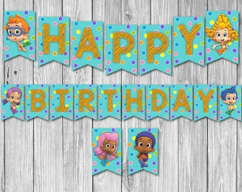 Bubble Guppies Banner (Digital)