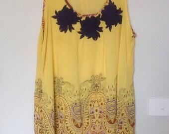 Yellow Elephant tunic