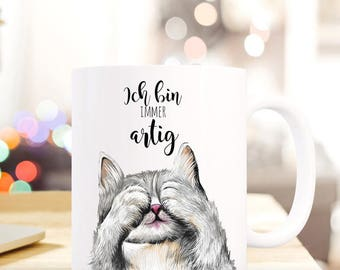 Gift coffee cup cat kitten-like TS407