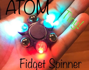 ATOM LED Fidget Spinner - Tiny!